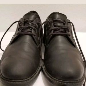 Mens Timberland Shoes Black Leather Walking Oxford
